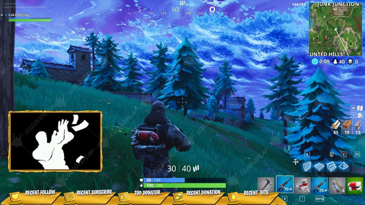 ✅[GOLD] VICTORY ROYALE 2018 - STREAM OVERLAY