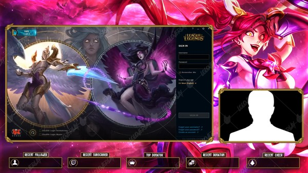 ✅🎞️ [ANIMATED] STAR GUARDIAN JINX - LOBBY OVERLAY