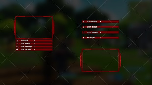 [RED] FORTNITE - CAM OVERLAY