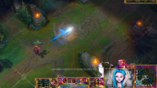 ✅BATTLE ACADAMIA GRAVES - IN GAME OVERLAY