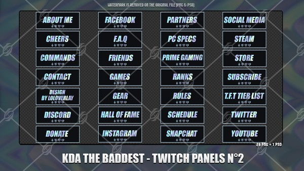 🎙️KDA THE BADDEST - TWITCH PANELS N°2