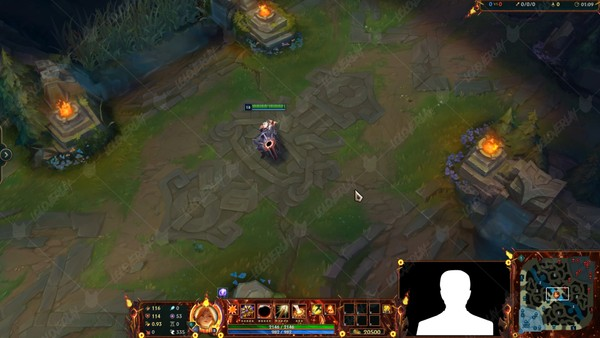 🆕🎞️ [ANIMATED] SOLAR ECLIPSE LEONA - STREAM OVERLAY
