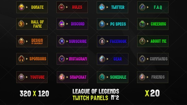 LEAGUE OF LEGENDS - TWITCH PANELS #2