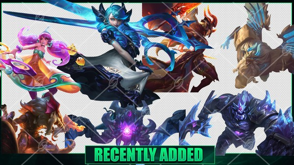 💎 LEAGUE OF LEGENDS RENDERS PACK [1376 PNG]