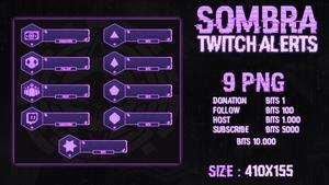 SOMBRA - TWITCH ALERTS