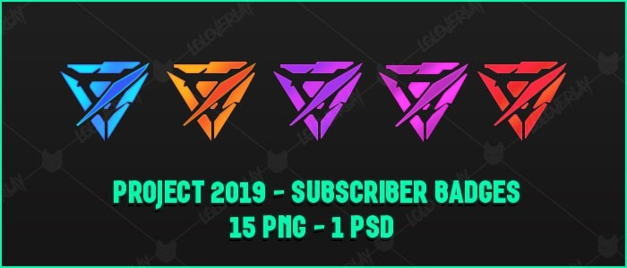 ✅ PROJECT 2019 - SUBSCRIBER BADGE