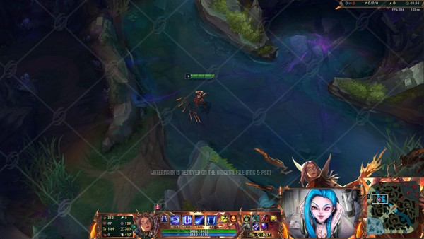 💥HIGH NOON IRELIA - IN GAME OVERLAY