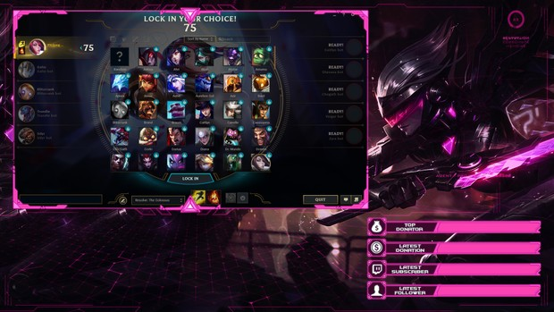 PROJECT FIORA - CLIENT OVERLAY
