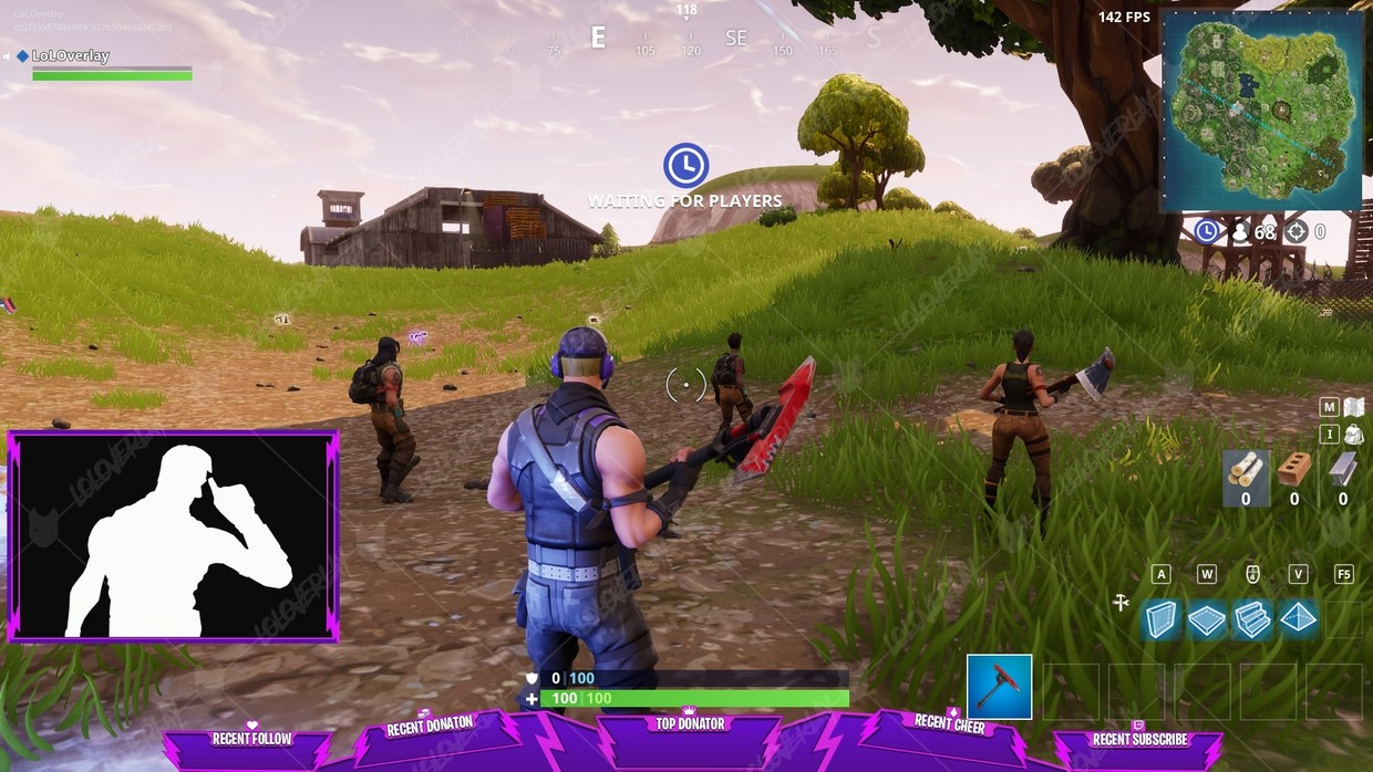 ✅ FORTNITE STORM - STREAM OVERLAY