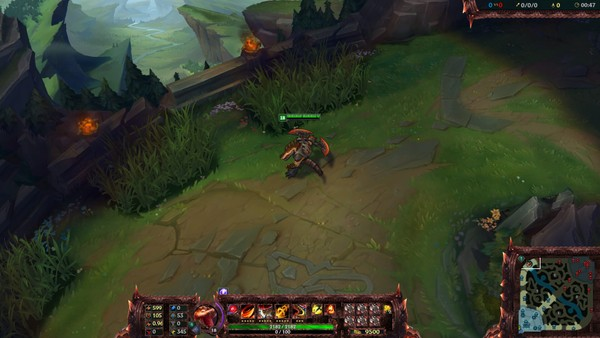 ✅ SCORCHED EARTH RENEKTON - STREAM OVERLAY