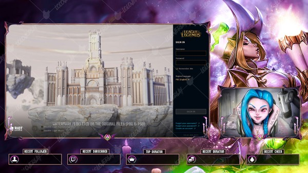 ✅👻 BEWITCHING MISS FORTUNE PRESTIGE EDITION - LOBBY OVERLAY