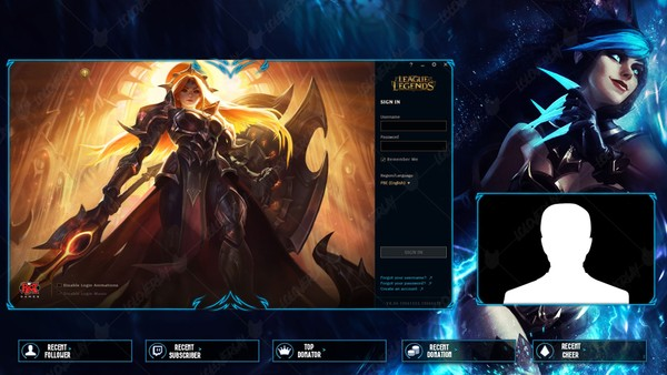 ✅ SHADOW EVELYNN - LOBBY OVERLAY