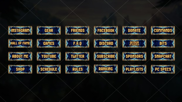 CHALLENGER - TWITCH PANELS