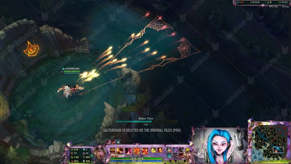✅👻 BEWITCHING MISS FORTUNE PRESTIGE EDITION - IN GAME OVERLAY