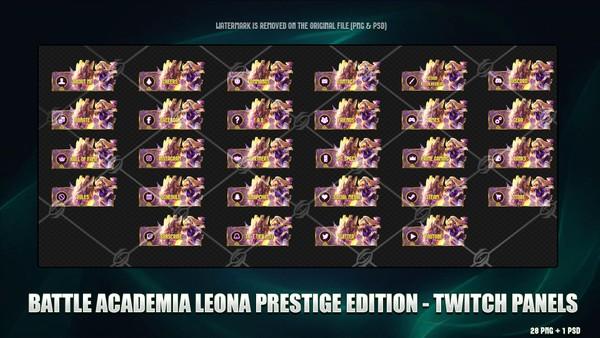 🎓BATTLE ACADEMIA LEONA PRESTIGE EDITION  - TWITCH PANELS
