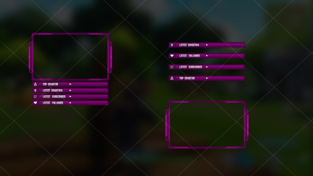 [PINK] FORTNITE - CAM OVERLAY