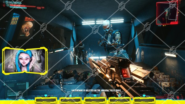 🎞️🏎️[ANIMATED] CYBERPUNK 2077 - IN GAME OVERLAY