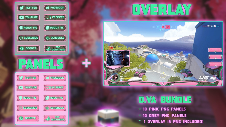 ✅ D.VA BUNDLE - PANELS + OVERLAY