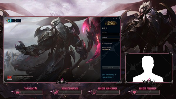 ✅ GOD KING DARIUS - LOBBY OVERLAY
