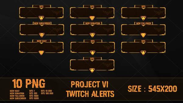 ✅ PROJECT VI - TWITCH ALERTS