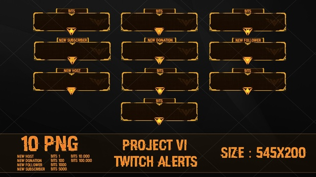 PROJECT VI - TWITCH ALERTS