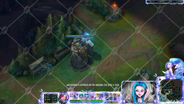 🎙️KDA ALL OUT SERAPHINE SUPERSTAR - IN GAME OVERLAY