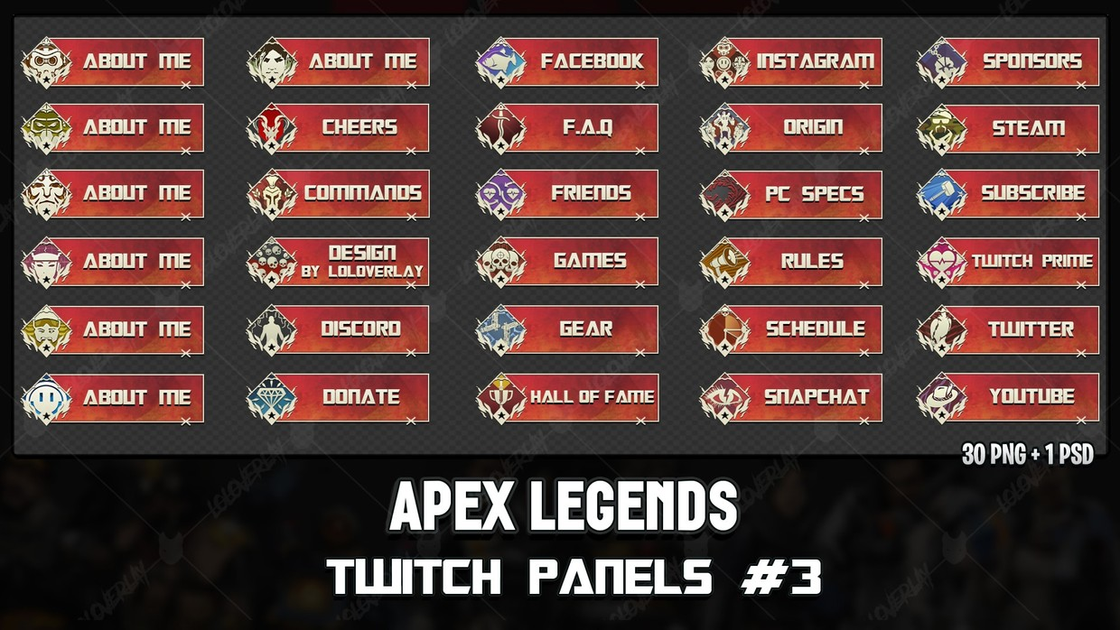 ✅ APEX LEGENDS - TWITCH PANELS #3