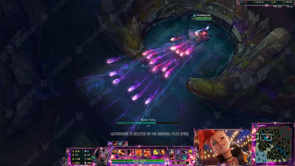 ✅👻 BEWITCHING MISS FORTUNE - IN GAME OVERLAY