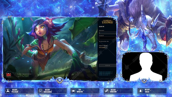 ✅ ICE KING TWITCH - LOBBY OVERLAY