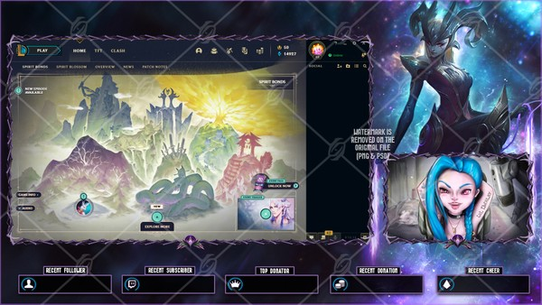 ✅COVEN CAMILLE - LOBBY OVERLAY