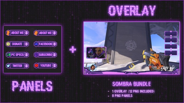 ✅ SOMBRA BUNDLE - PANELS + OVERLAY
