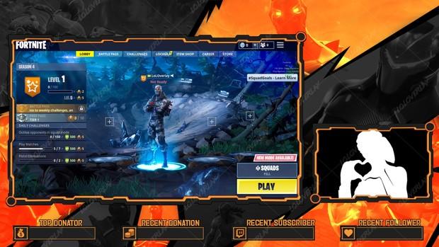 Fortnite Omega Lobby Overlay