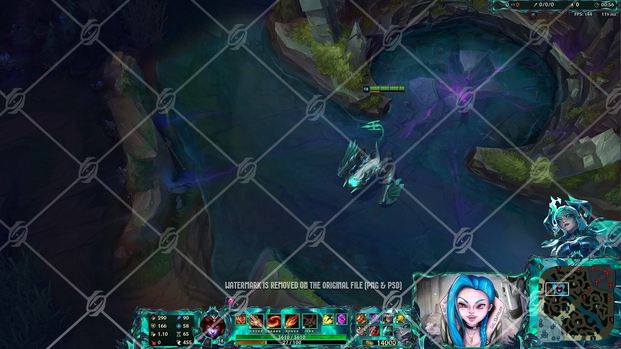 ☠️RUINED SHYVANA - IN GAME OVERLAY