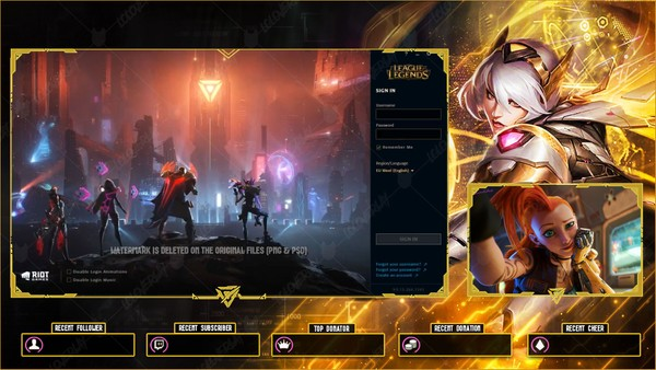 ✅PROJECT IRELIA PRESTIGE EDITION - LOBBY OVERLAY
