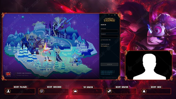 ✅ BLOOD MOON SIVIR - LOBBY OVERLAY