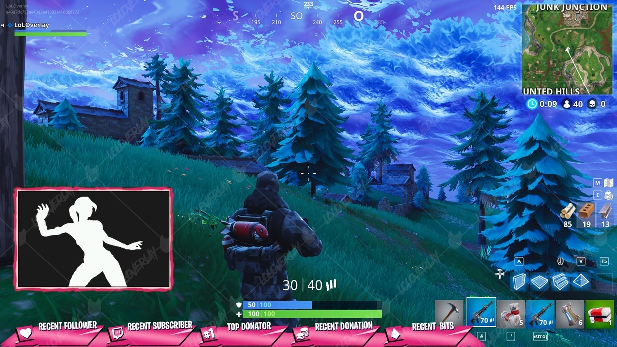 ✅ [PINK]  VICTORY ROYALE 2018 - STREAM OVERLAY