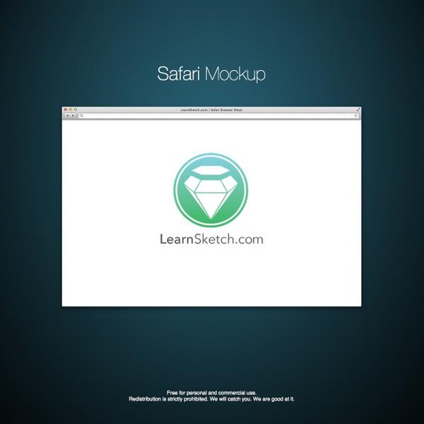 Vector Safari Mockup