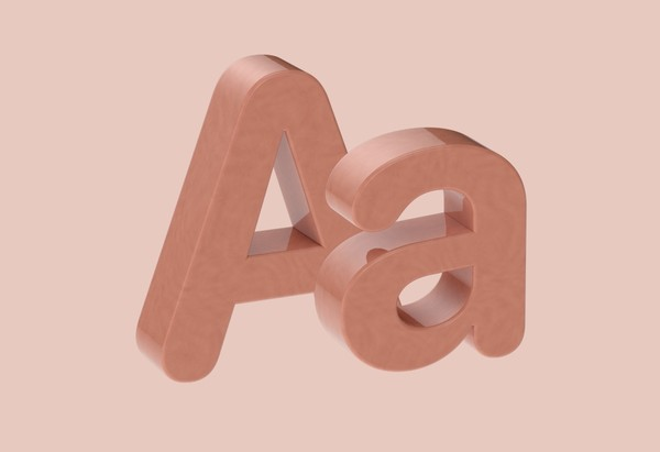 Camella Glaze Ceramic Letters and Numbers