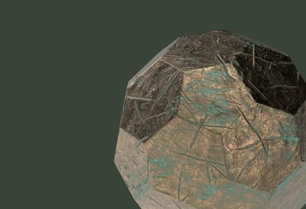 Corroded Bronze Basic Shapes