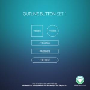 Outline Button Set 1