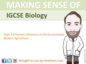 IGCSE Biology - Modern Agriculture Presentation