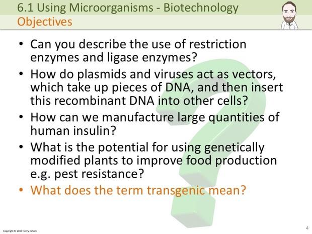 IGCSE Biology - Genetic Modification Presentation