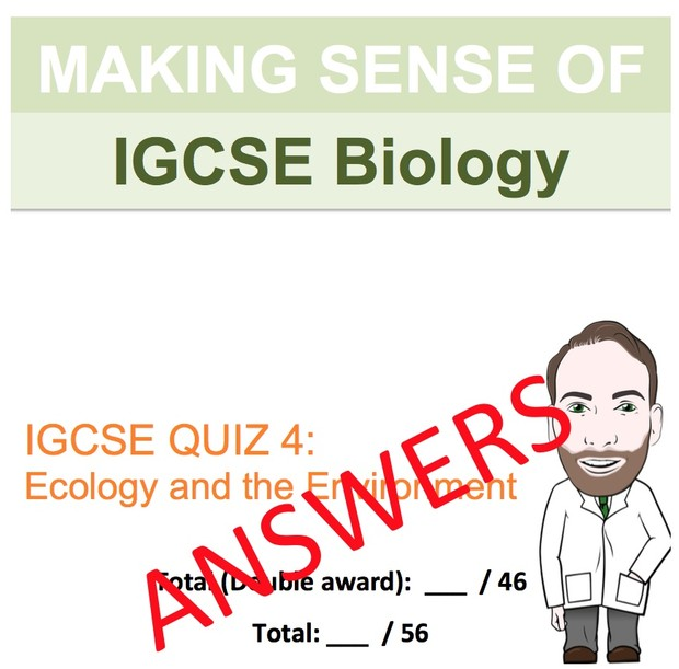IGCSE Biology - Ecology and the Environment Revision Quiz