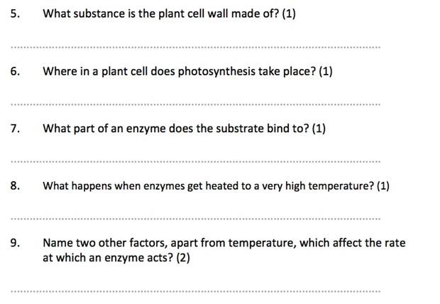 Complete IGCSE Biology Revision Quiz Bundle