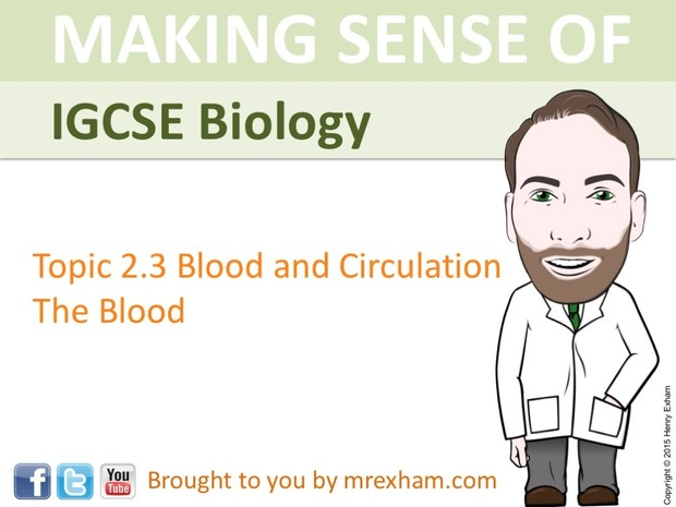 IGCSE Biology - The Blood Presentation