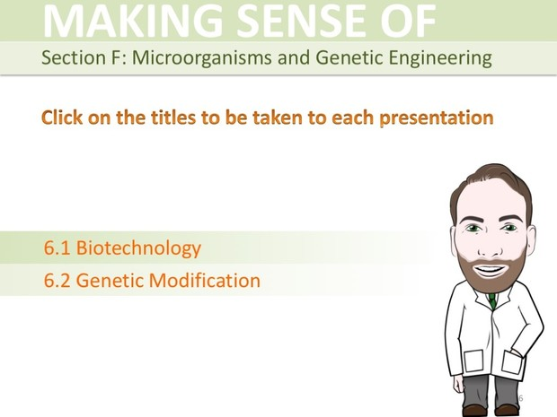 IGCSE Biology - Variation, Selection, Microorganisms and Genetic Engineering Presentation Bundle
