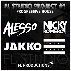 FL Studio Project: Progressive House Style Alesso, Jakko, Nicky Romero, Third Party