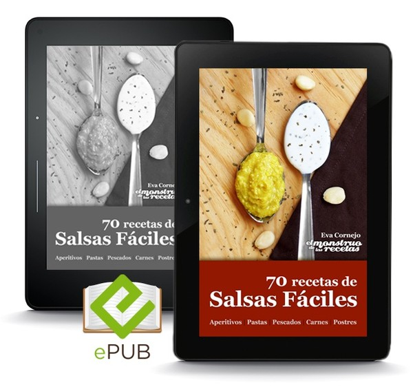 70 recetas de salsas fáciles (ePUB)