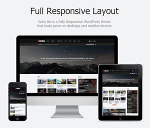 Soria - Plantilla Revista Responsive blog de WordPress