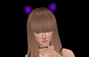Lace Cat Ears - Limited  8/10